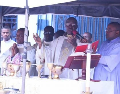 Chrism Mass at the Holy Ghost Cathedral, Enugu
