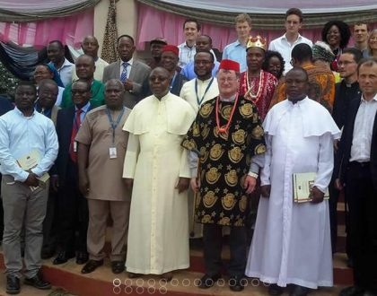 The Catholic Bishop of the Diocese of Linz, Austria, visited Enugu Diocese Nigeria