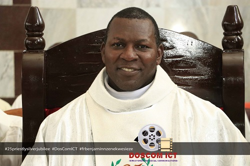 25TH PRIESTLY SILVER JUBILEE OF VERY REV. FR. DR. BENJAMIN NZENEKWESI EZE