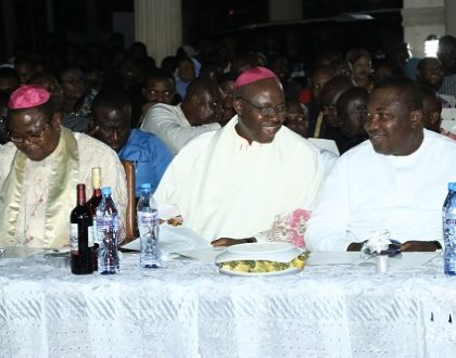 Photo highlights from carol of nine lessons at holy ghost cathedral