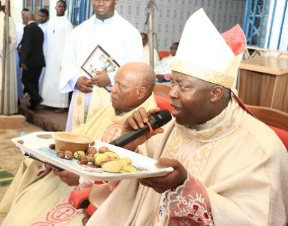 Pictures from the Enugu Deanery Cathedraticum