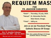 REQUIEM MASS FOR FR. JOACHIM CABANYES Msgri/Frs