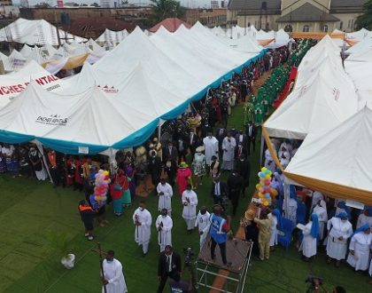 Opening Mass of the Bishops Conference Of Nigeria {2ND PLENARY}.. (PHOTOS)